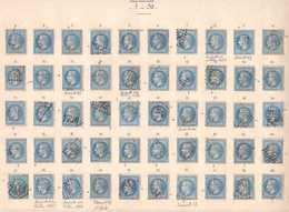N°29B Planchage Du Panneau A2, 150 Positions Sur 150, Panneau Complet, RRRRRR - 1863-1870 Napoléon III. Laure