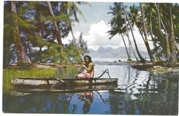 Polynésie Française Retour De La Pèche - Polynésie Française