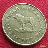 Macedonia 1 Denar 1997 KM# 2  Macedoine Mazedonien - Macédoine