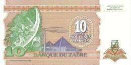 ZAIRE P. 49 10 M 1993 UNC - Zaïre