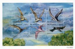 Lote 2277, Nicaragua, 1999, Pliego, Sheet, Dinosaurio, Dinosaur - Nicaragua