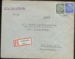 09246 DR R-  Brief Eydkuhnen Ostpreußen - Utrecht 1938 - Briefe U. Dokumente