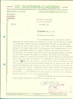 BROUWERIJ ST-JOZEF / LIMONADEFABRIEK ST-ANTONIUS / VIC. GOOSSENS-CLAESSENS OPGLABBEEK  1985 (F316) - 1950 - ...