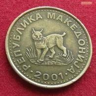 Macedonia 5 Denari 2001 KM# 4  Macedoine Mazedonien - Macédoine