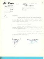 BROUWERIJ BRASSERIE CAULIER BRUXELLES 1955 (F78) - 1950 - ...