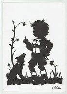 (033233) Künstler Scherenschnitt Von Jo Valler, Genf - Silhouettes