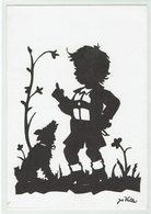 (033..233) Künstler Scherenschnitt Von Jo Valler, Genf - Scherenschnitt - Silhouette