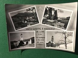 Cartolina Capanne Di Marcarolo - La Montagna A Due Passi Dal Mare- 1962 - Alessandria