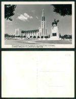 MOÇAMBIQUE [ 0329 ] - LOURENÇO MARQUES - CATEDRAL ESTATUA MOUSINHO ALBUQUERQUE  - Ed. Foto Lu Shih Tung - Mozambique