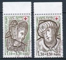 France - Croix-Rouge 1979 YT 2070-2071 Obl - France