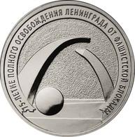 Russia, 2019, II World War, LENINGRAD, 25 Rbl 25 Rubels Rubles - Russland