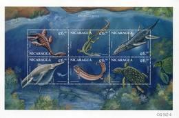 Lote 2278, Nicaragua, 1999, Pliego, Sheet, Dinosaurio, Dinosaur - Nicaragua