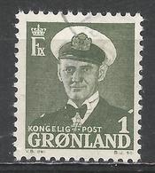 Greenland 1950. Scott #28 (U) King Frederik IX * - Groenland