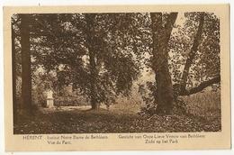 5 - Herent - Institut Notre Dame De Bethléem - Vue Du Parc - Herent