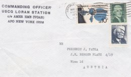 US Modern Fieldpost: Hellinikon AB, Athens, Greece - USCG Loran Station P/m APO 09223 1976 (DD17-36) - Militaria