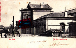 BRAINE-le-COMTE - La Gare - Braine-le-Comte