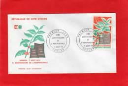 Enveloppe 1er Jour * * ABIDJAN * * République De Cote D'Ivoire - 1970 - Ivory Coast (1960-...)