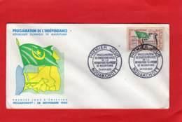 Enveloppe 1er Jour * * NOUAKCHOTT * * République Islamique De Mauritanie - Mauritanie (1960-...)