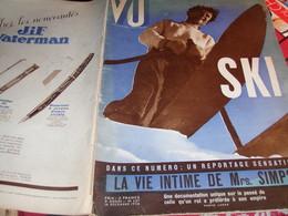 VU 36 / SKI  /MERMOZ MORT /SIMPSON PHOTO MAN RAY /SAINT NAZAIRE USINE/SCOUTS BADEN POWELL / - Books, Magazines, Comics