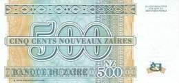 ZAIRE P. 65a 500 Z 1995 UNC - Zaïre