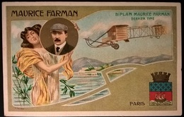 BIPLANO MAURICE FARMAN - Aviatori