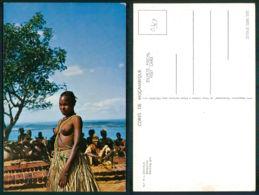 MOÇAMBIQUE [ 0368 ] - ZAVALA DANÇARINA DANCING NUDE GIRL BELLE FILLE SEMI NUDE BREAST - Mozambique