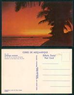 MOÇAMBIQUE [ 0390 ] - LOURENÇO MARQUES - POR DO SOL NA AVENIDA MARGINAL - Mozambique
