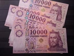 BILLET Hungria Hungary Magyar 10000 Forints 2014 - Espagne