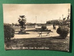 Cartolina Casale Monferrato - Giardini Lungo Po Castanro Ciano - 1960 Ca. - Alessandria
