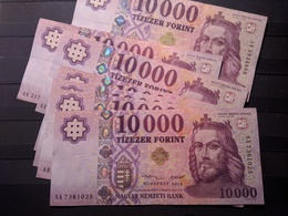 BILLET Hungria Hungary Magyar 10000 Forints 2015 - Espagne