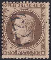 N°30 Oblitéré Gros Chiffres 4221 De Ville D'Avray (72), TB Et Assez Rare. - 1863-1870 Napoléon III. Laure
