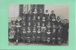 75 PARIS  ECOLE COMMUNALE DE JEUNES FILLES 8 RUE DAVIEL PARIS XIII  CARTE PHOT - Schools