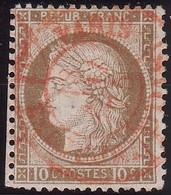 N°54 Sur Papier Blanc, Très Rare, Cachet à Date Des Imprimés Du 18 Mai 1875, TB - 1871-1875 Cérès