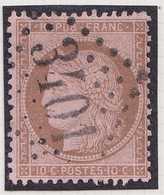 N°58 Oblitéré GC 3401 De  La Seyne Sur Mer (78), TB. - 1871-1875 Cérès