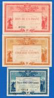 La  Roche  Sur Yon  3  Billets - Cámara De Comercio