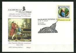AUTRICHE OMA Festival De Salzbourg 2004 24.07.2004 5010 Salzbourg Superbe - Musique