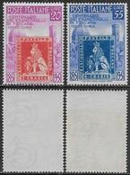 Italia Italy 1951 Francobolli Di Toscana Sa N.653-654 Completa Nuova Integra MNH ** - 1946-60: Nuovi