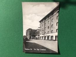 Cartolina Valenza Po - Via Lega Lombarda - 1960 Ca. - Alessandria
