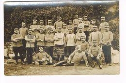 Cpa. Photo Groupe De Militaires.11e Escadron. Pontivy .Octobre 1914.     (cdv-016) - Personnages