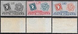 Italia Italy 1951 Francobolli Di Sardegna Sa N.672-674 Completa Nuova Integra MNH ** - 1946-60: Nuovi