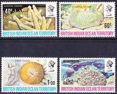 BIOT British Indian Ocean Territory 1972 Corals Complete Set Mi 44-47 MNH **, I Sell My Collection! - British Indian Ocean Territory (BIOT)