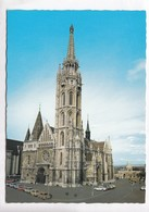 Budapest, Matyas-templom, Matthias Church, Hungary, Unused Postcard [22713] - Hungary