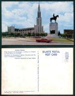 MOÇAMBIQUE [ 0396 ] - LOURENÇO MARQUES - CATEDRAL PRAÇA MOUSINHO DE ALBUQUERQUE - Mozambique