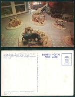 MOÇAMBIQUE [ 0409 ] - LOURENÇO MARQUES - MUSEU ALVARO DE CASTRO - ELEPHANT IMPALA GIRAFE GNU LION ZEBRA - Mozambique