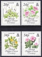 BIOT British Indian Ocean Territory 1993 Christmas Flowers Compl. Mi 144-147 MNH **, I Sell My Collection! - Britisches Territorium Im Indischen Ozean