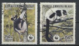 °°° MADAGASCAR - Y&T N°843/44 - 1988 °°° - Madagascar (1960-...)