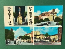 Cartolina Saluti Da Piscinas - 1960 Ca. - Sassari