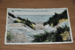 7164-  WENDUINE, LA MER ENTRE LES DUNES - Wenduine