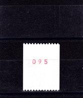 YT 2379 ** - Liberté De Gandon 2,20 Rouge Roulette Oeil Blanc + N° Rouge - Variétés Et Curiosités