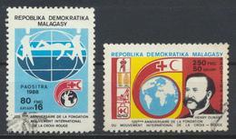 °°° MADAGASCAR - Y&T N°892/93 - 1988 °°° - Madagascar (1960-...)